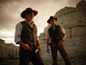 Harrison Ford e Daniel Craig in Cowboys and Aliens