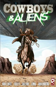 il fumetto di Cowboys and Aliens