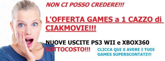 Games PS3 WII XBOX360 a 1 CAZZO!!!